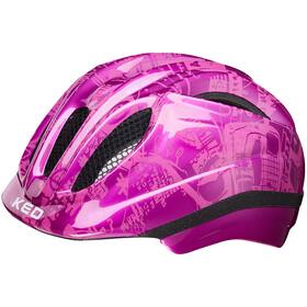 KED Meggy Trend Lapset Pyöräilykypärä , vaaleanpunainen